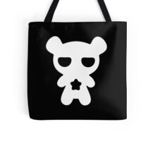 Lazy Bear Black and White Tote Bag