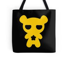 Lazy Bear Yellow Attention Tote Bag