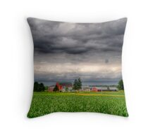 Storm Clouds Gathering-2 Throw Pillow