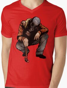 The Hunter And The Hammer Mens V-Neck T-Shirt
