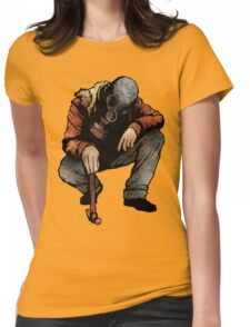 The Hunter And The Hammer Womens Fitted T-Shirt