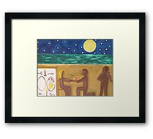 THE PROPOSAL Framed Print