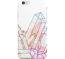 Technicolour Crystal Graphic Illustration iPhone Case/Skin