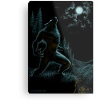 Howl of the Werewolf Metal Print