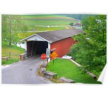 Jackson's Saw Mill Covered Bridge Poster