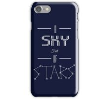 A Sky Full of Stars (without stars) iPhone Case/Skin