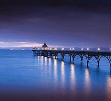 Clevedon Pier  by Alan Watt