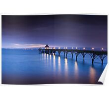 Clevedon Pier  Poster