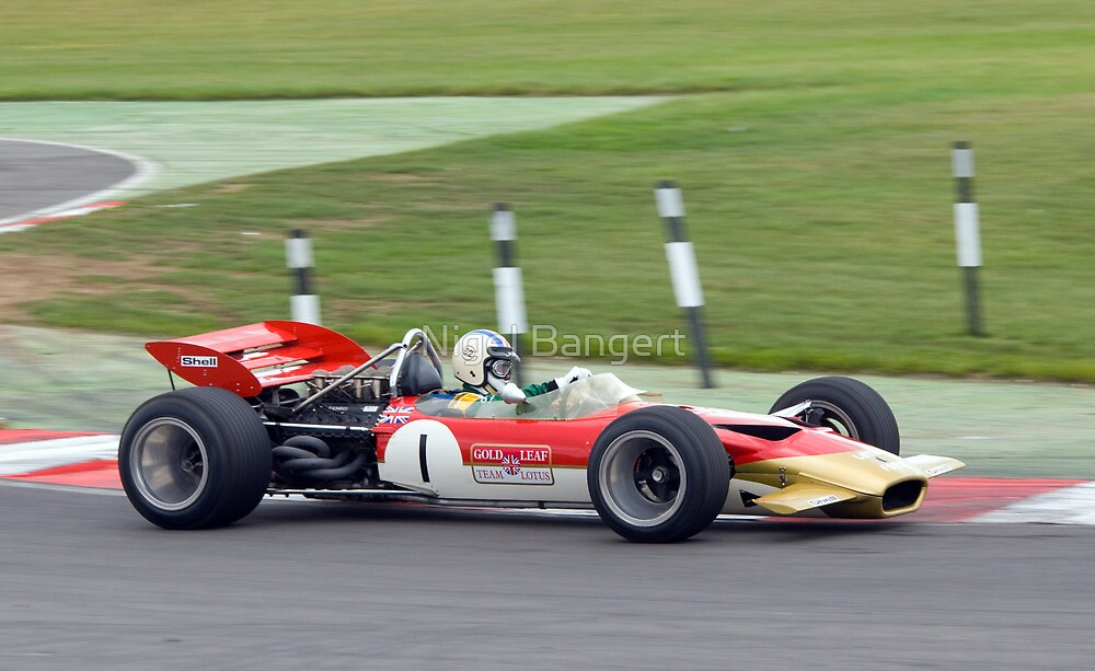 Lotus F1 - Type 49 - 1967/70  by Nigel Bangert