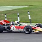 Lotus F1 - Type 49 - 1967/70  by Nigel Bangert