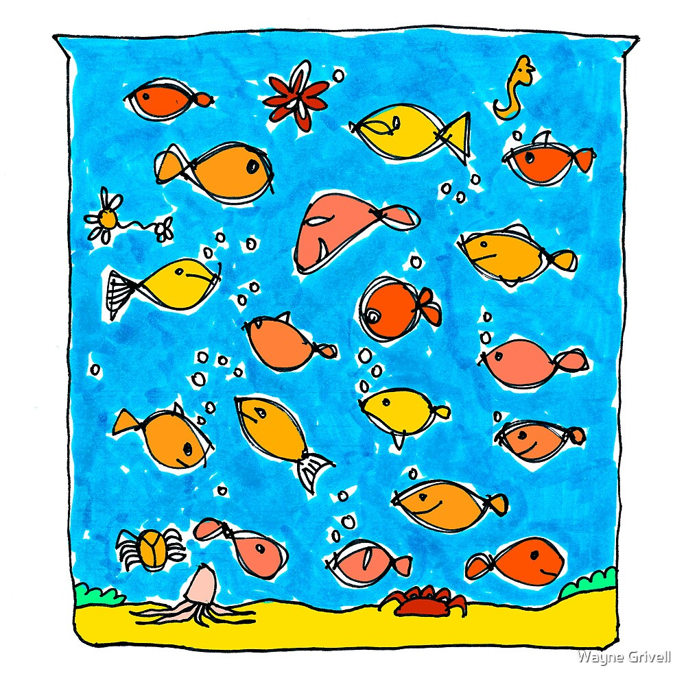 Fishies by Wayne Grivell