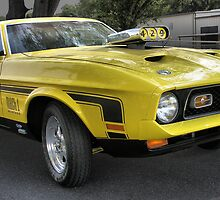 1972 Ford Mustang Mach 1 by Ostar-Digital