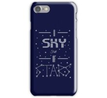 A Sky Full Of Stars + stars iPhone Case/Skin