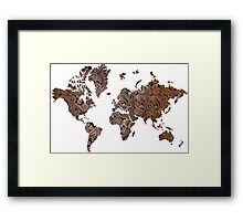 Paisley world Framed Print