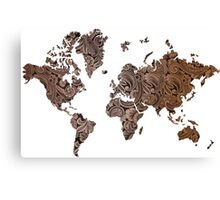 Paisley world Canvas Print