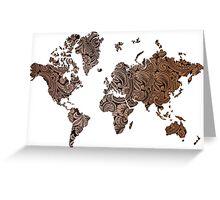 Paisley world Greeting Card