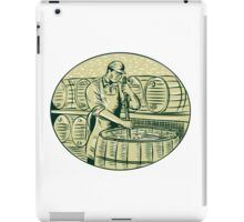 Brewer Brewing Beer Etching iPad Case/Skin