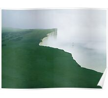 Beachy Head, East Sussex Poster