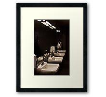 Wash Your Hands..... Framed Print