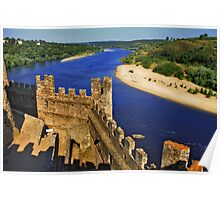 Almourol Castle Poster