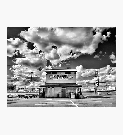 Hot-Dog,Hamburger,Frites,Michigan Photographic Print