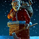 Psycho Santa by Paul Mudie