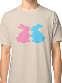 Cute little LOVE bunnies for Valentines Classic T-Shirt