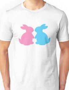 Cute little LOVE bunnies for Valentines Unisex T-Shirt