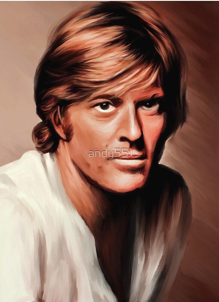 Robert Redford by andy551
