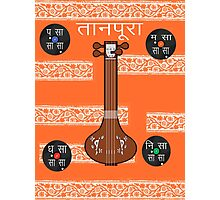 Tanpura Photographic Print