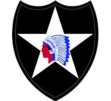 2nd Infantry Division (United States) Photographic Print