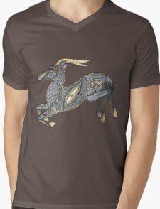 Leaping Impala Tee Mens V-Neck T-Shirt