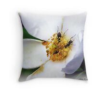 Nectar Seekers Throw Pillow
