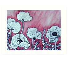 Poppies VI Art Print