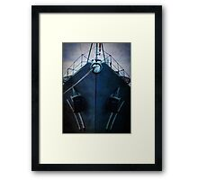 iPhoneography: Blue Vampire Framed Print