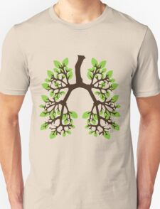 Breathe Green Unisex T-Shirt