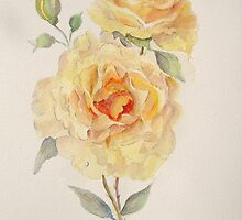 One rose or two by Beatrice Cloake Pasquier