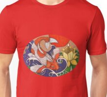 Leaping Koi Unisex T-Shirt