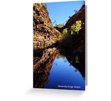 Hamersley Gorge, Karijini Postcard Greeting Card