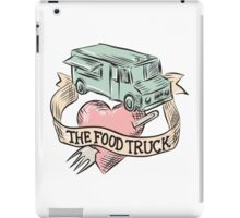 Food Truck Heart Fork Etching iPad Case/Skin