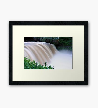 An Evening in Chagrin Framed Print