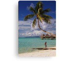 """ South Pacific "" Canvas Print"