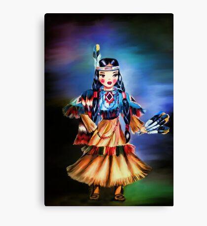 Indian girl Canvas Print
