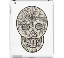 Sugar Skull Tattoo Etching iPad Case/Skin