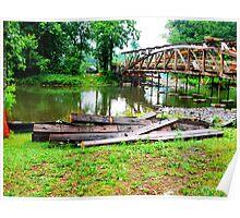 Millmont or Glen Iron Covered bridge_Union Co, PA Poster