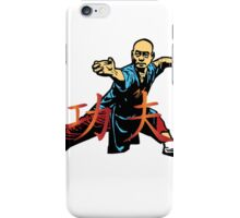 Warrior,kungfu iPhone Case/Skin