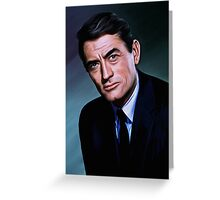 Gregory Peck Greeting Card