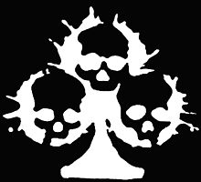 Cool tree of death skulls by funnyshirts