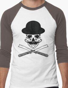 Victorian Jolly ROger Men's Baseball ¾ T-Shirt