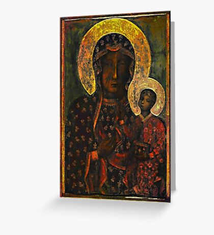 The Black Madonna Greeting Card